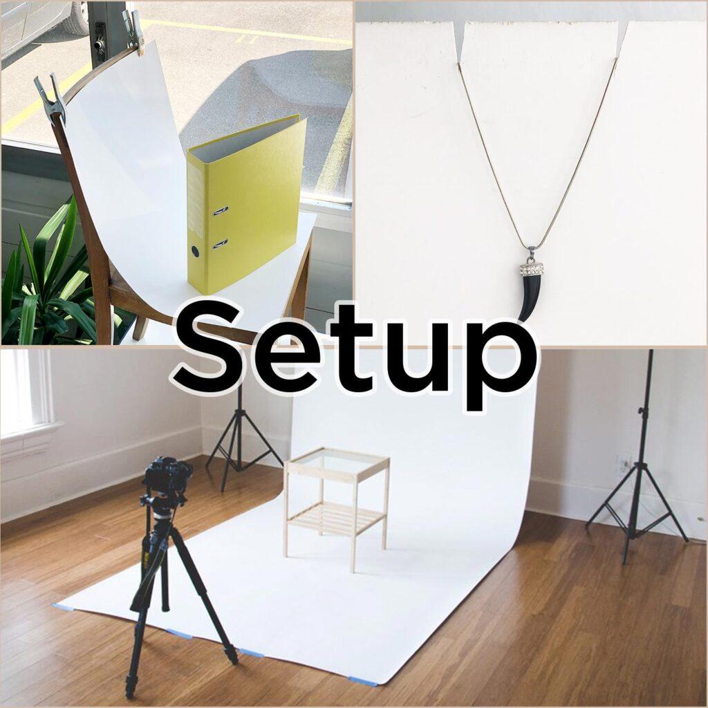 Aufbau von einem Setup
